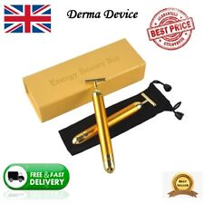 Gold Beauty Bar Skin Lifting Wrinkle Skin care Facial Massage DERMA Device UK