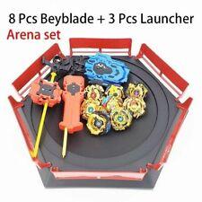 8x Beyblade Burst Arena Launcher Evolution Battle Platform Stadium Christmas Toy
