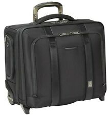 Travelpro Crew Executive Choice 2 - Wheeled Brief Bag w/USB Port, Black, 17 in.