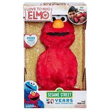 "Sesame Street Love to Hug Elmo Talking Singing Hugging 14"" Plush Toy Christmas"