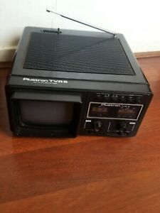 Plustron Portable TV/Radio TVR 5  PAL NOT TESTED
