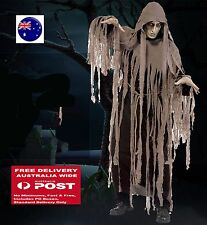 Man Adult Halloween Zombie Mummy Scary Horror Costume Tops Gown Cover Cape