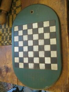 VINTAGE STYLE WOODEN CHECKER BOARD