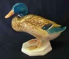 BESWICK Mallard Duck, MODEL 817 - Squatting, RARE BIRD SERIES England Doulton
