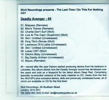 (DU873) The last time i do this for nothing, CD 1 - 12 tracks - DJ CD