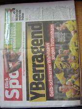 18/08/2010 Ragazzi V Tottenham Hotspur Coppa dei Campioni [] Blick sport quotidiano,