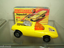 MATCHBOX SUPERFAST No.1e MOD ROD  MIB