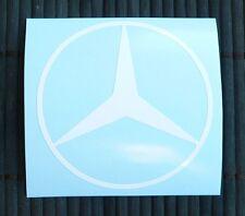 adesivo logo Mercedes auto car vinile vinyl sticker decal amg c a b cls clc 190