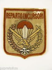 Patch Aeronautica Militare 17 Stormo Reparto Incursori Mimetica Vegetata Desert
