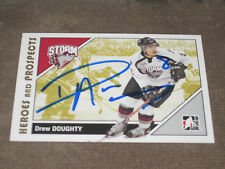 DREW DOUGHTY AUTOGRAPHED 2007-2008 ITG HEROES AND PROSPECTS CARD