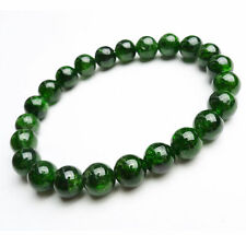 Beads Bracelet 7 mm Aaa Natural Green Diopside Gemstone Translucent Round