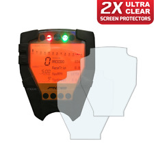 2 x KTM RC8 / RC8R 2008> Dashboard / Instrument Screen Protector: Ultra-Clear