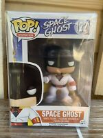 FUNKO POP! Space Ghost 122, NEW, RARE, Vaulted, Adult Swim Protector