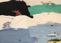 Souvenir Sports Single Stitch Screen Stars VINTAGE T Shirt LOT OF 8 Walleye