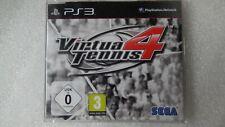 Virtua Tennis 4 PS3 PROMO Game Sony PlayStation 3 Virtua Tennis 4 Promotional.