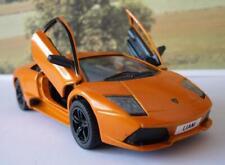 PERSONALISED PLATES Orange Lamborghini Toy Car Boys Dad Model Birthday Present