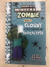 DIARY OF MINECRAFT ZOMBIE BOOK 14, LATEST , CLOUDY WITH A CHANCE OF APOCALYPSE