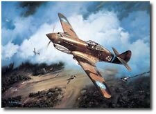 """First Blood"" by Roy Grinnell - Co-Signed by P-40 Ace David ""Tex"" Hill"