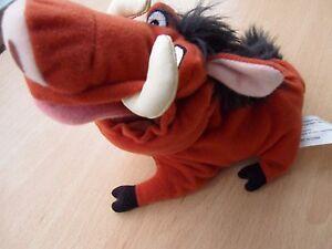 "Disney's Promotional 7"" Pumba  Beanie Toy - Lion King 3"