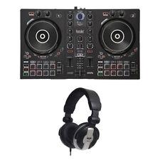 Hercules DJ Control Inpulse 300 DJ Controller with MH110 Studio Headphones