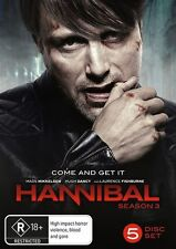 Hannibal : Season 3 (DVD, 2016, 5-Disc Set)