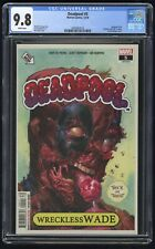 Deadpool #5 CGC 9.8 (Marvel 12/18) Garbage Pail Kids trading card Variant Cover