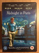 Owen Wilson Adrien Brody MIDNIGHT IN PARIS ~ 2011 Woody Allen Comedy | UK DVD