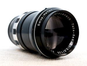 SCHNEIDER KREUZNACH TELE XENAR 135mm 3.5 Telephoto Portrait Lens for M42 fit