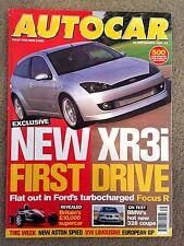 AUTOCAR MAGAZINE 29-SEP-99 - Ariel Atom, Honda S2000, VW Lupo FSi, Chrysler Neon