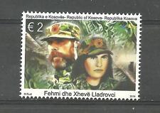 KOSOVO 2014 Fehmi and Xheve Lladrovci set MNH