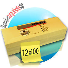 Haftnotizen Klebenotizen,Klebezettel 50 Blatt 76x76 mm oder 150 Blatt 25x76 mm