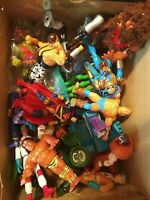 vintage 15 action figure  mix lot toxic crusader wwf tatanka marvel dc etc check