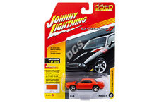 JOHNNY LIGHTNING  2010 DODGE CHALLENGER R/T 1/64 DIECAST HEMI ORANGE JLCP7060 A