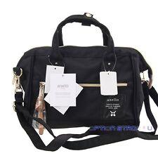 Anello Black (Small) Japan Women Shoulder Top-Handle Cross Body Satchels Bag