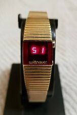 Vintage Longines Wittnauer Polara Women's LED Watch working