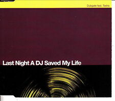 DUBGATE feat. Tasha - Last Night A DJ Saved My Life - CD SINGLE