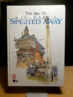 The Art of Miyazaki's Spirited Away by Hayao Miyazaki (English) Hardcover Book