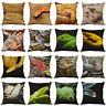 Snake Cotton Linen Home Décor Decorative Pillow Case Sofa Waist Cushion Cover