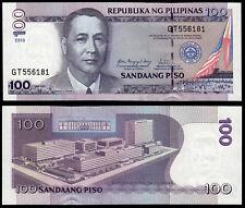 PHILIPPINES 100 PISO (P194b) 2010 UNC