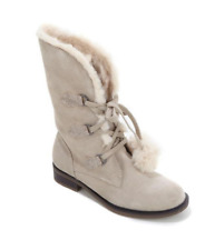 Sporto® Water-Resistant Pixie Suede Boot, Taupe 11W