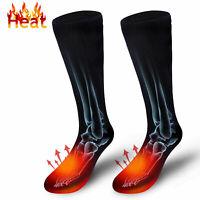Winter Elektrische Beheizte Socken Unisex Warme Thermische Socken Akku Fußwärmer