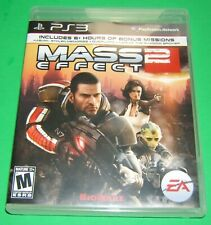 PS3 MASS EFFECT 2 Video Game