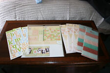 Heidi Grace Fiskars Scrapbooking Orchard Paper, Stickers etc Mixed Lot
