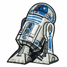 R2 D2 robot (Iron on) Embroidery Applique Patch Sew Iron Badge