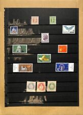 [OP4379] Switzerland lot of stamps on 11 pages