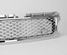 SILVER MESH-RE9041 DISCOVERY 4 2009/>16 AUTOBIOGRAPHY TYPE FRONT GRILLE BLACK