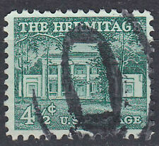 USA Briefmarke gestempelt 4.5c The Hermitage / 1560