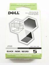 Genuine Dell Series 5 Black Print Cartridge J5566  NEW