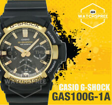 Casio Sport G-shock Tough Solar Black Mens Gas-100g-1a