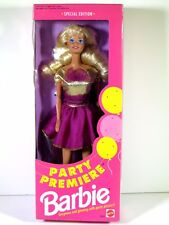 NIB BARBIE DOLL 1992 PARTY PREMIERE